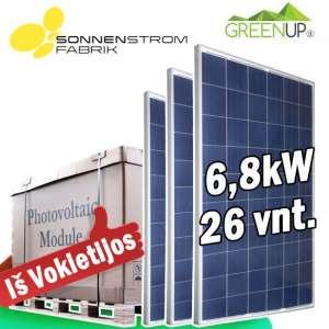 saulės baterijų kaina