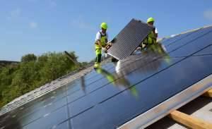 saules elektrinės verslui