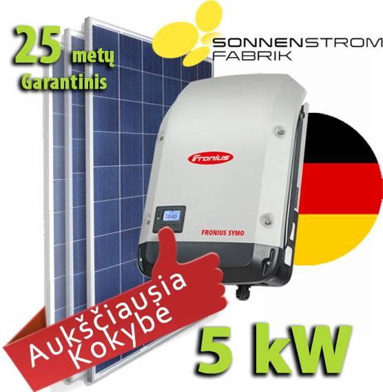Saulės baterija kaina