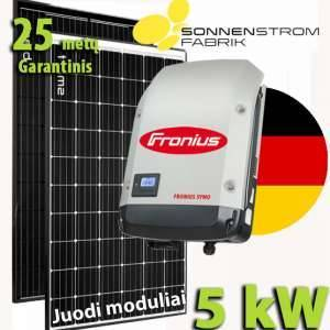 Saulės baterija vandens šildymui