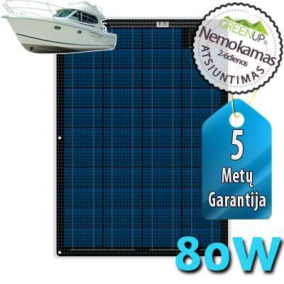 saulės baterija vandens transportui