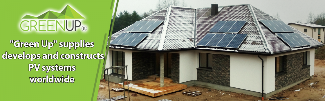 solar pv system Lithuania Greenup