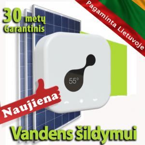 saulės elektrinė vandens šildymui