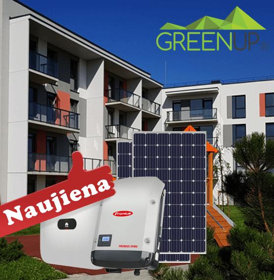 saulės baterija butui