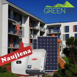 saules elektrines daugiabuciams