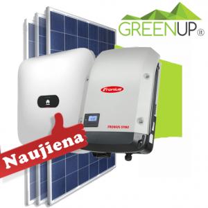 saulės fotovoltinė elektrinė be akumuliatorių