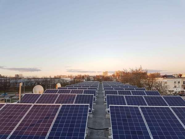 igyvendinti projektai saules elektrine