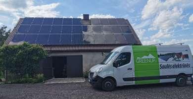 saules elektrines parama