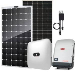 Saulės elektrinių komponentai
