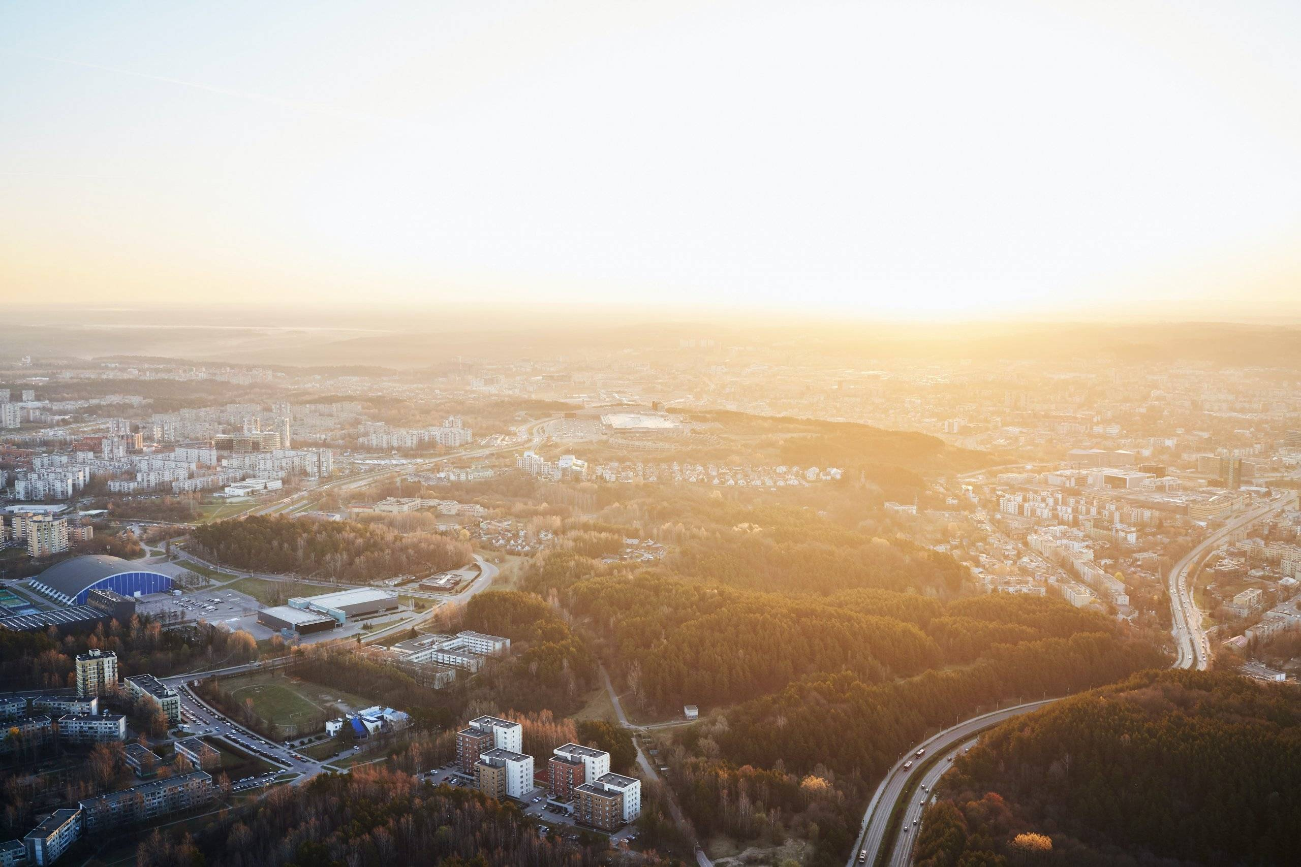 saulės elektrinės Vilniuje