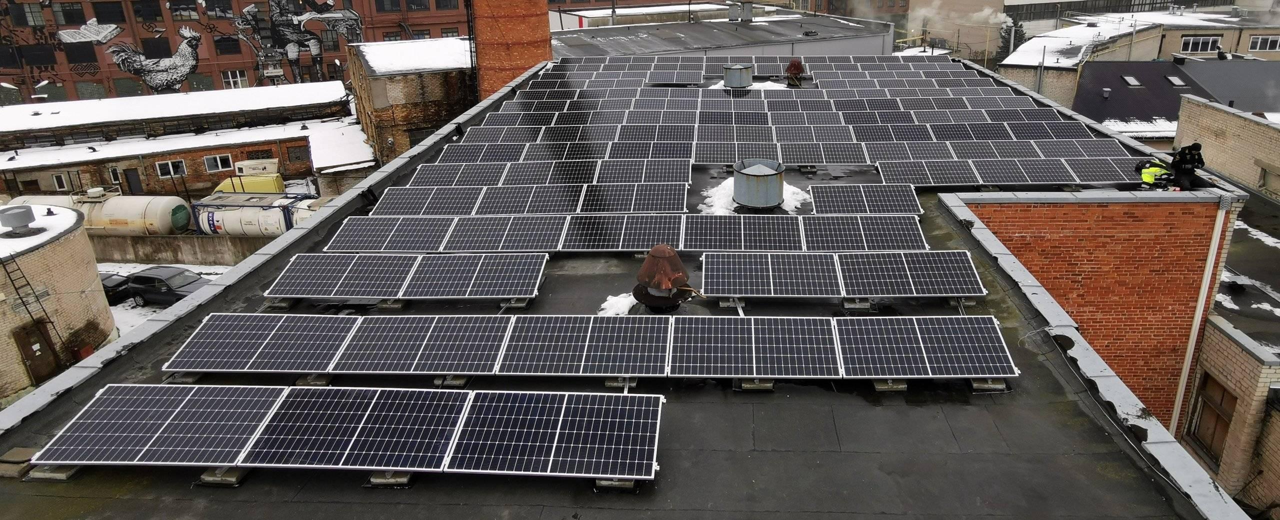 parama saules elektrinei verslui